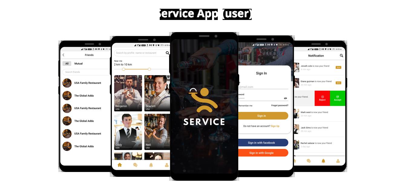 Service App User
